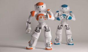 قالب تم پاورپوینت گروه رباتیک