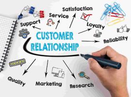 ادبیات و پرسشنامه مدیریت ارتباط با مشتری بر اساس مدل مامون و همکاران
